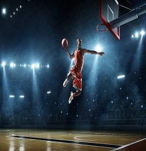 Ein Basketballspieler